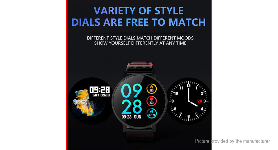 "T3 1.3"" IPS Touch Screen Smart Bracelet Wristband"
