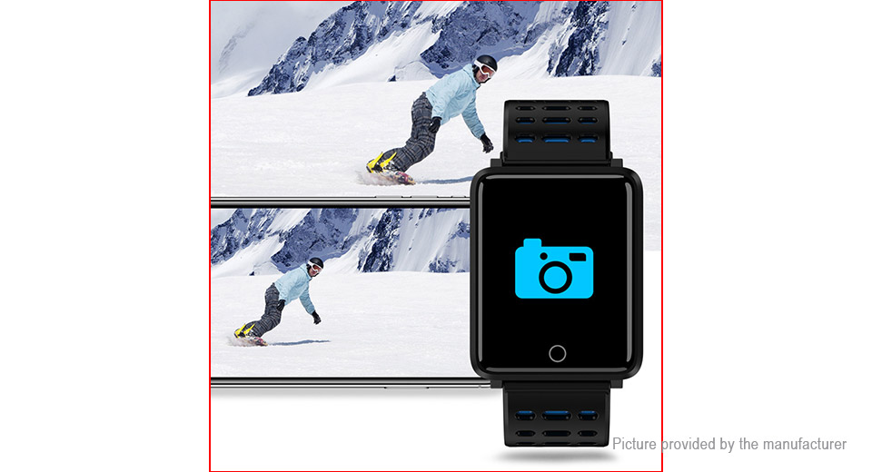 F3S 1.44'' TFT Touch Screen Sports Bluetooth V4.0 Smart Watch