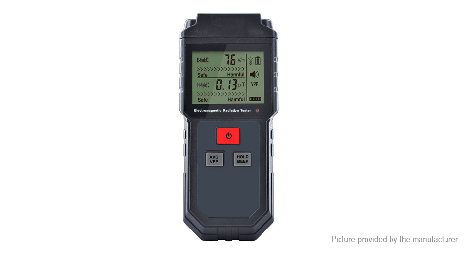 WinAPEX ET825 LCD Display Electromagnetic Radiation Tester