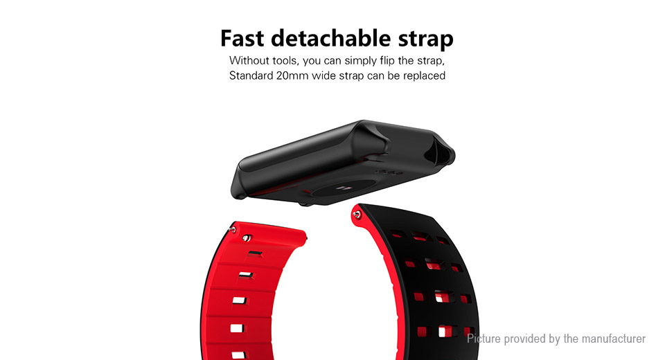 AK11 1.22'' IPS Touch Screen Smart Bracelet Wristband