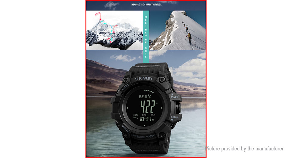 Authentic Skmei 1358 Men's PU Band Sports Digital Wrist Watch