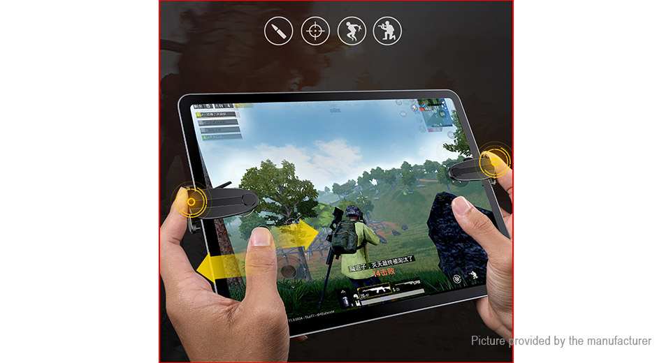 Authentic Baseus PUBG Game Controller Assist Tool for Tablet PC