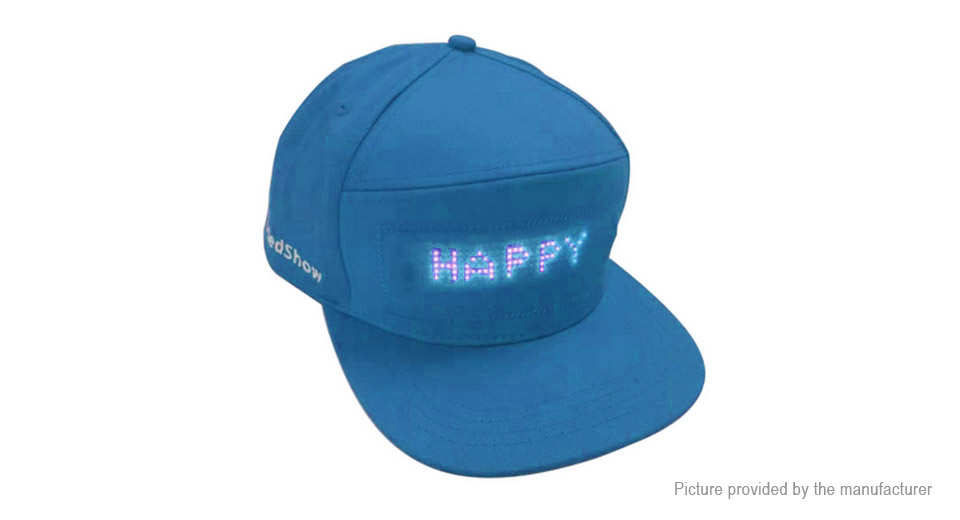 Product Image: bluetooth-v4-0-led-display-baseball-cap-sun-hat