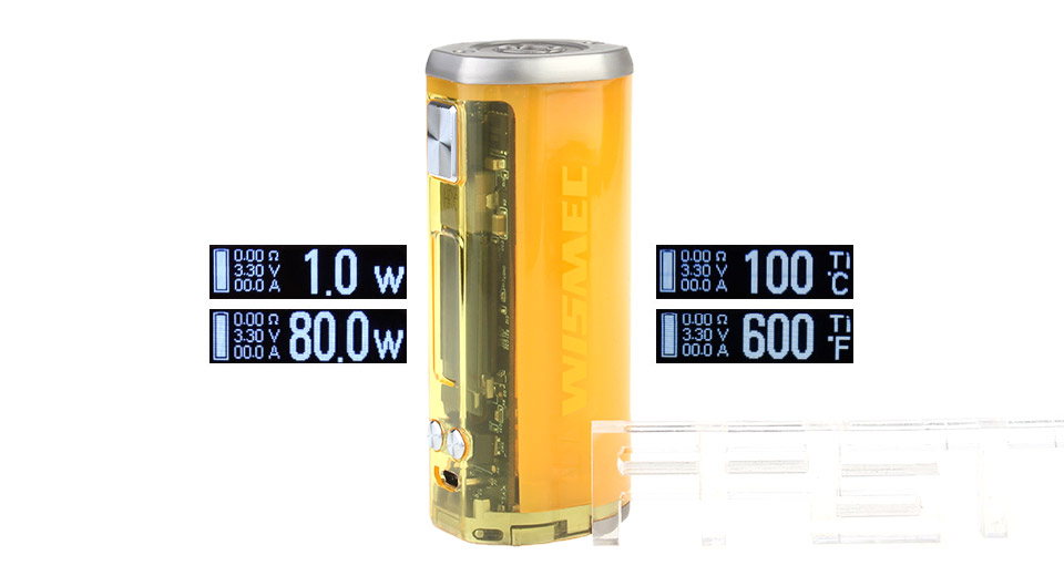 Product Image: authentic-wismec-sinuous-v80-80w-tc-vw-apv-box-mod