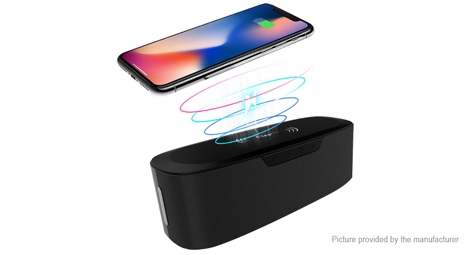2-in-1 Bluetooth V4.2 Stereo Speaker Subwoofer & Wireless Charger