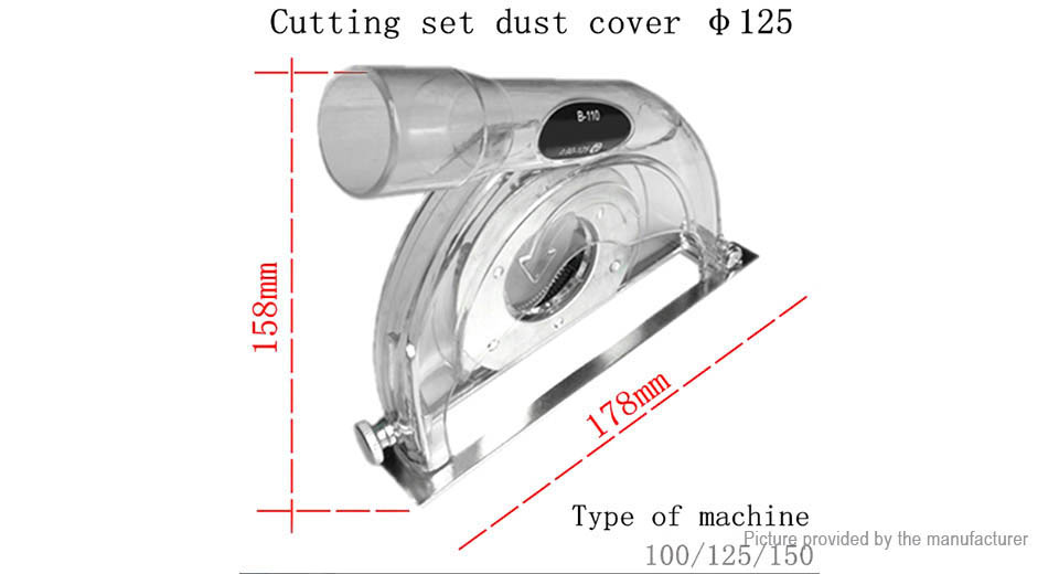 Grinding Disc Dust Cover Shroud for Angle Grinder Polisher