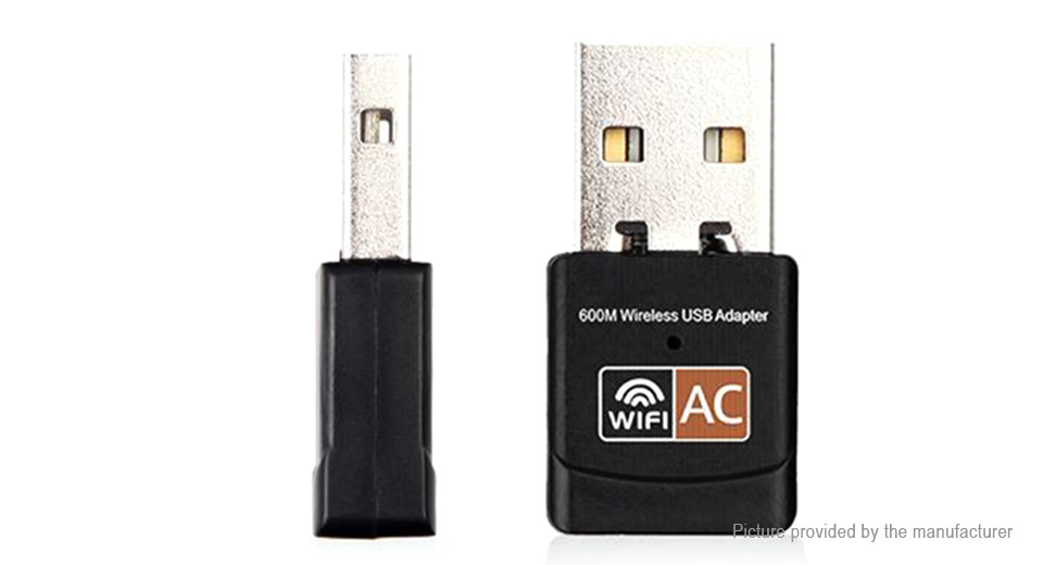 LV-UAC09 Dual Band 600Mbps USB Wifi Adapter Wireless Network Card