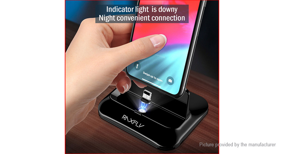 RAXFLY Dual 8-pin Magnetic Charging Dock Station Charger