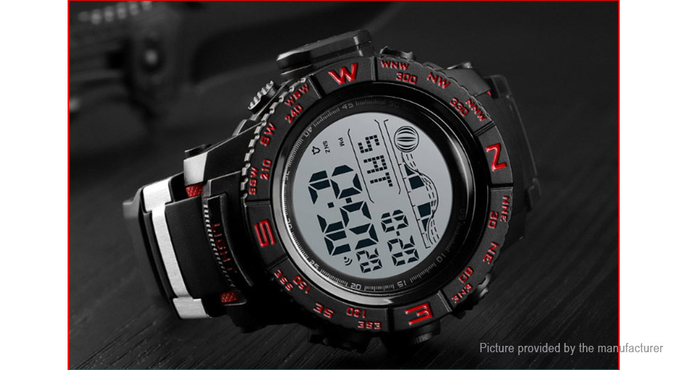 Authentic Skmei 1380 Unisex Silicone Band Sports Digital Wrist Watch