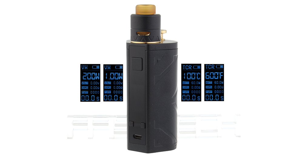 Product Image: authentic-smoant-battlestar-squonker-200w-tc-vv