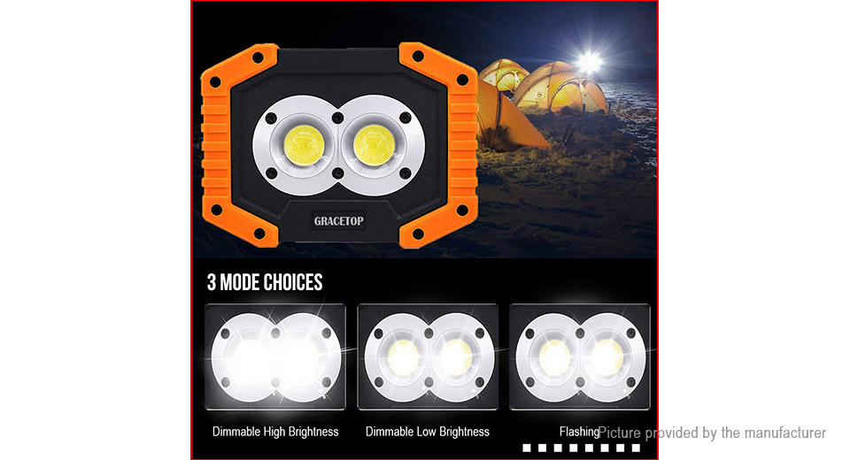 SY839 Outdoor Portable LED Work Light Camping Lantern