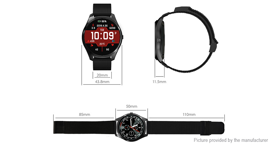 "X10 1.3"" IPS Bluetooth V4.0 Sport Smart Watch"