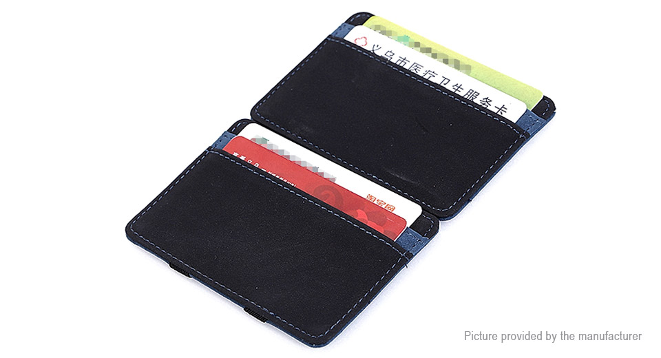 CUIKCA HF888 Men's Ultra Thin Card Holder Money Clip Magic Wallet