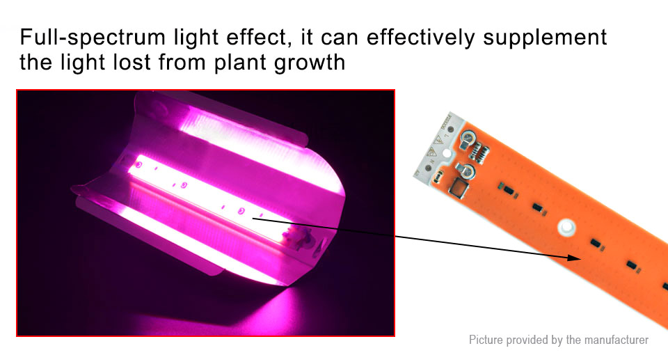 AC 220V 30W DIY Full Spectrum Plant Grown Light LED Chip Emitter