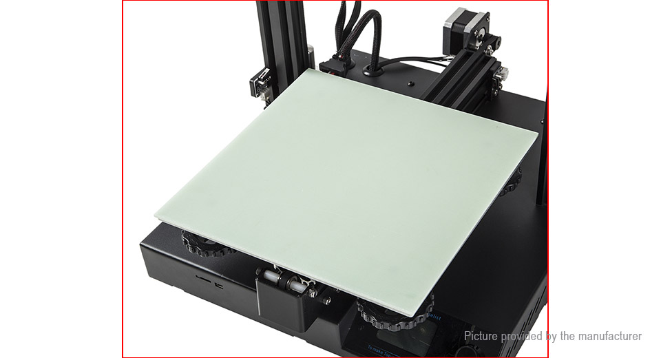 Heated Bed Build Plate for Creality Ender 3/Geeetech A10 3D Printer  (235*235mm)