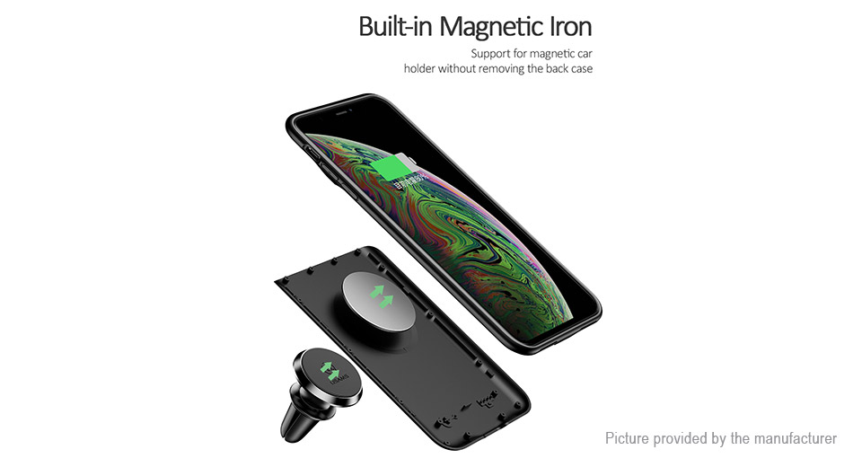 Authentic USAMS External Battery Back Case for iPhone XR (3200mAh)