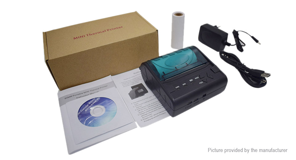 Zjiang ZJ-8003LN Bluetooth POS Receipt Thermal Printer (US)