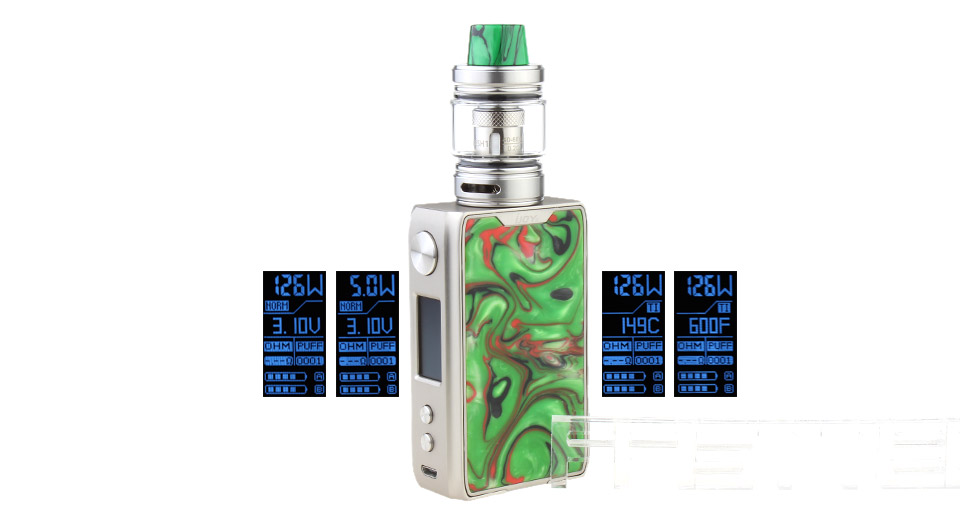 Product Image: authentic-ijoy-shogun-jr-126w-tc-vw-apv-mod-kit