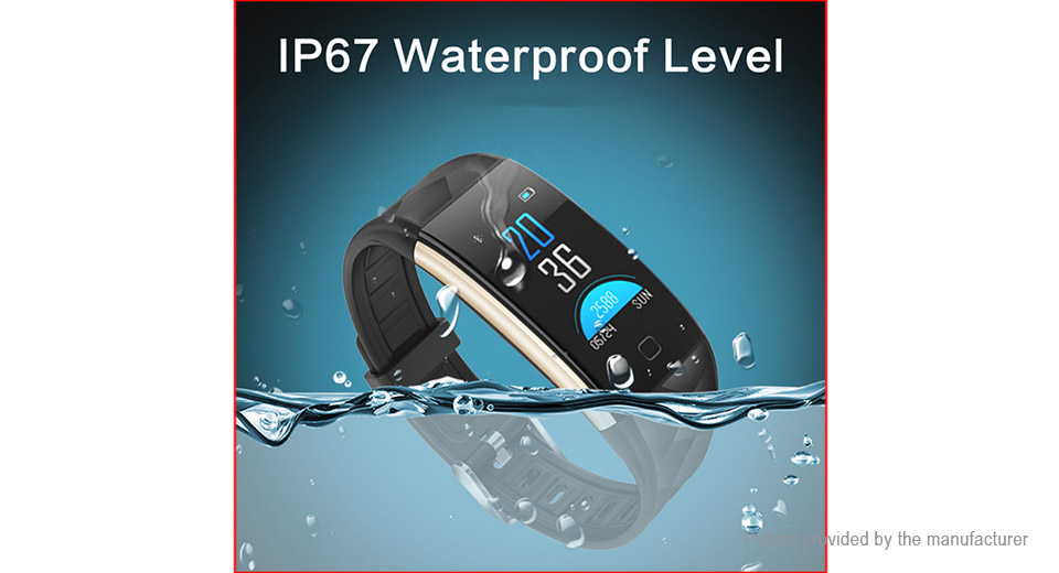 "T20 0.96"" TFT Touch Screen Smart Bracelet Wristband"
