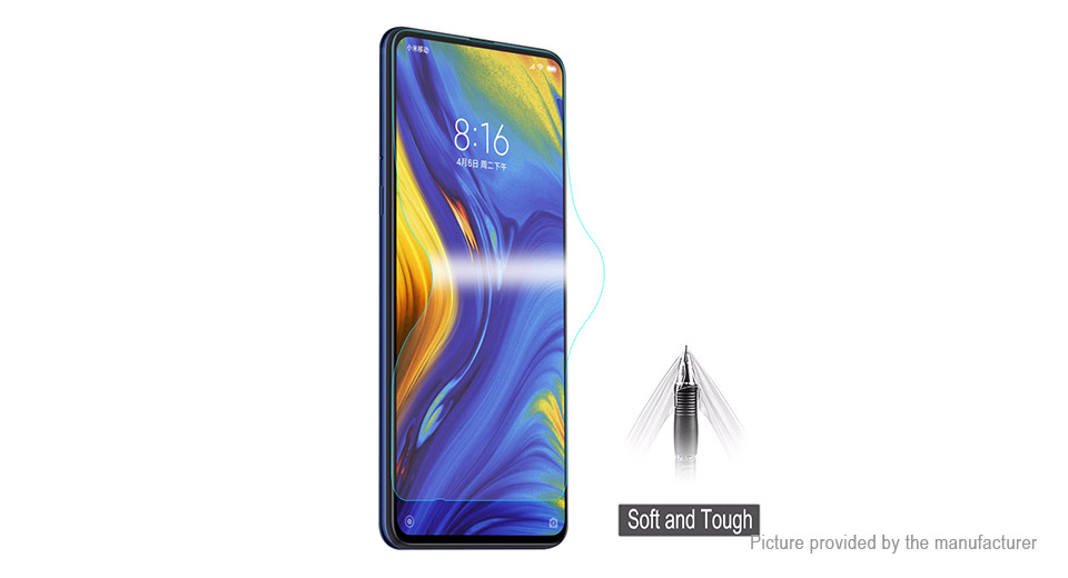 Hat.Prince 3D TPU + TPE + PET Screen Protector for Xiaomi Mi MIX 3