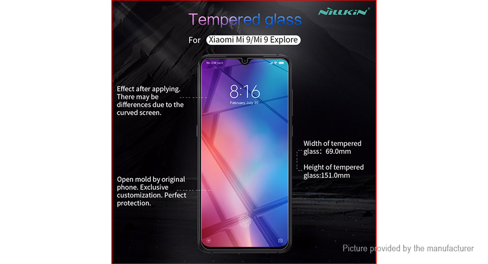 Nillkin H+Pro Tempered Glass Screen Protector for Xiaomi Mi 9