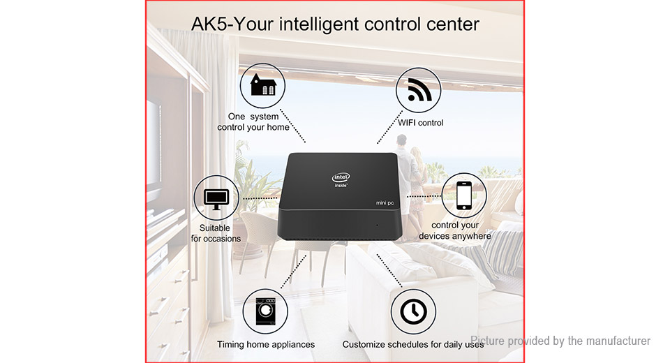 CENAVA AK5 Quad-Core Mini PC (64GB/EU)