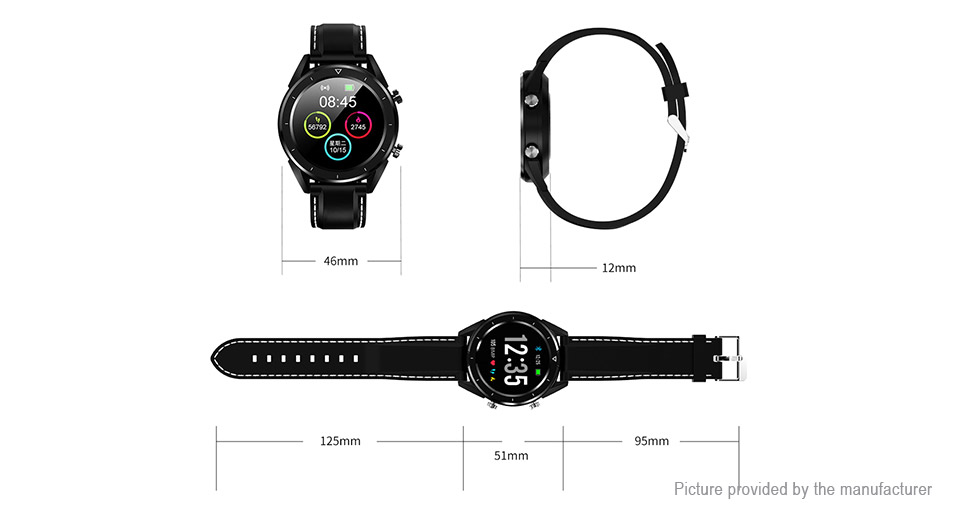 "DT NO.1 DT28 1.54"" TFT Touch Screen Bluetooth V4.0 Sports Smart Watch"