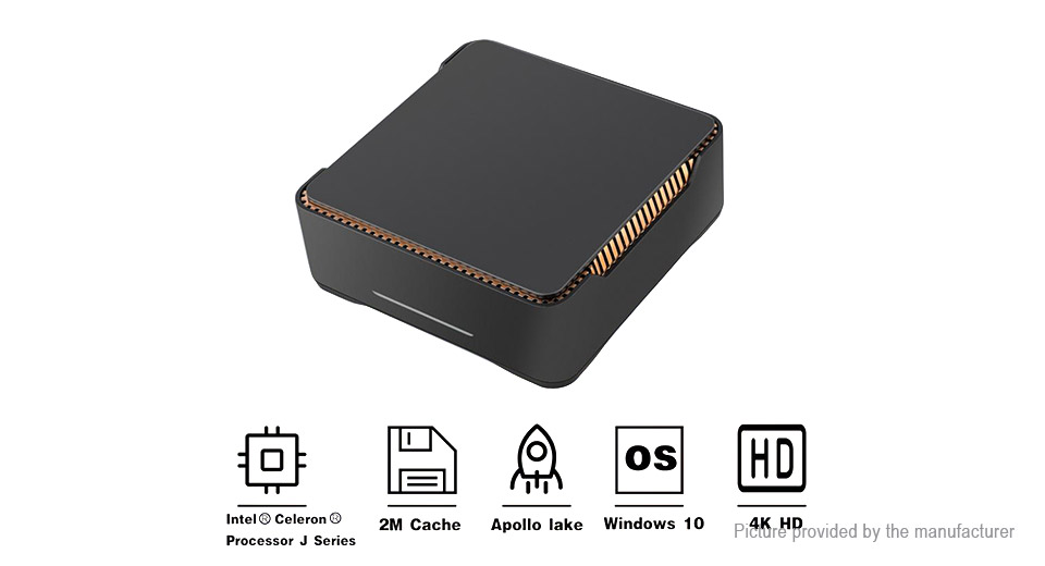 CENAVA AK3V Quad-Core Mini PC (64GB/EU)