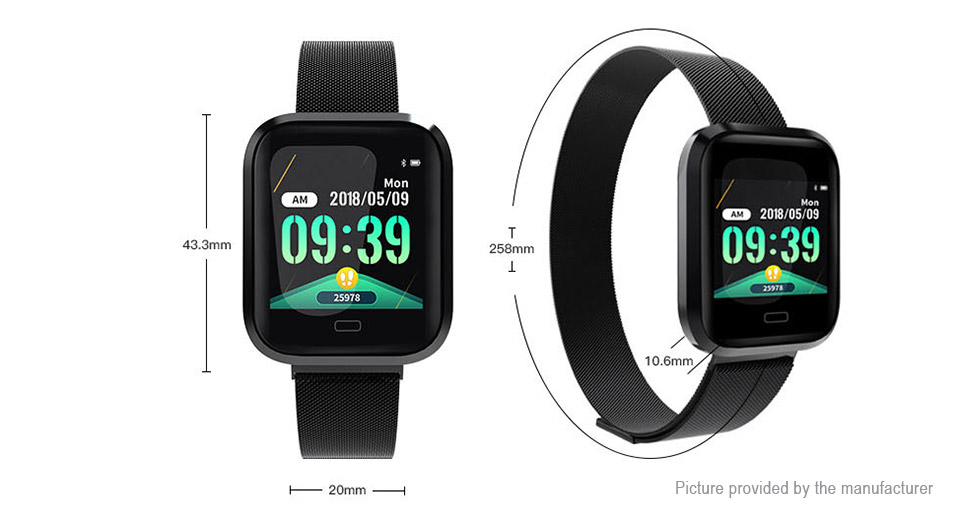 "M36 1.3"" IPS Touch Screen Bluetooth V4.0 Sports Smart Bracelet"