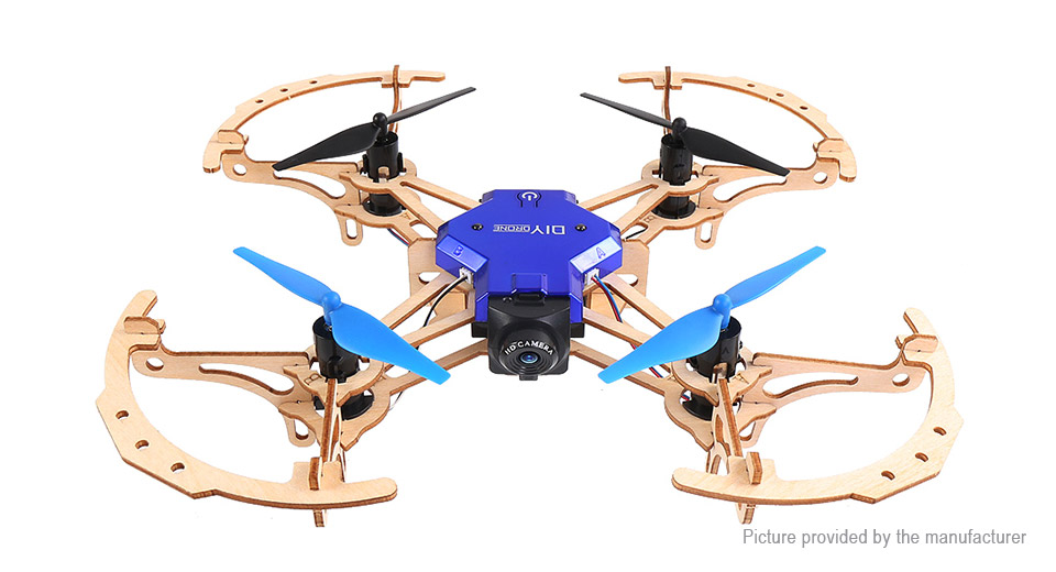 Product Image: zl100-diy-wooden-drone-r-c-quadcopter