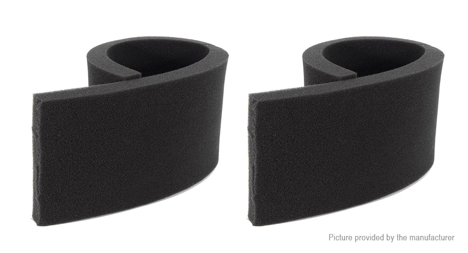 Aquarium Fish Tank Biochemical Cotton Sponge Filter (2-Pack)