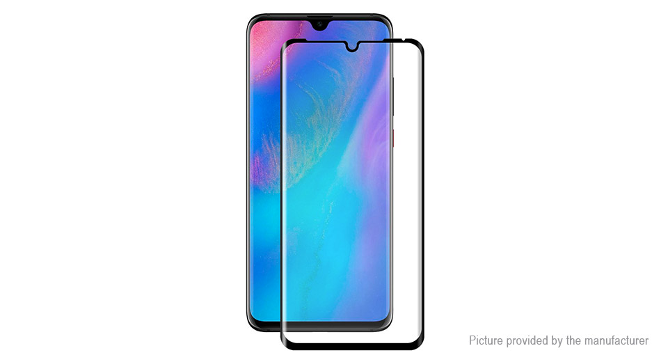Hat.Prince 3D Full Screen Tempered Glass Screen Protector for Huawei P30 Pro