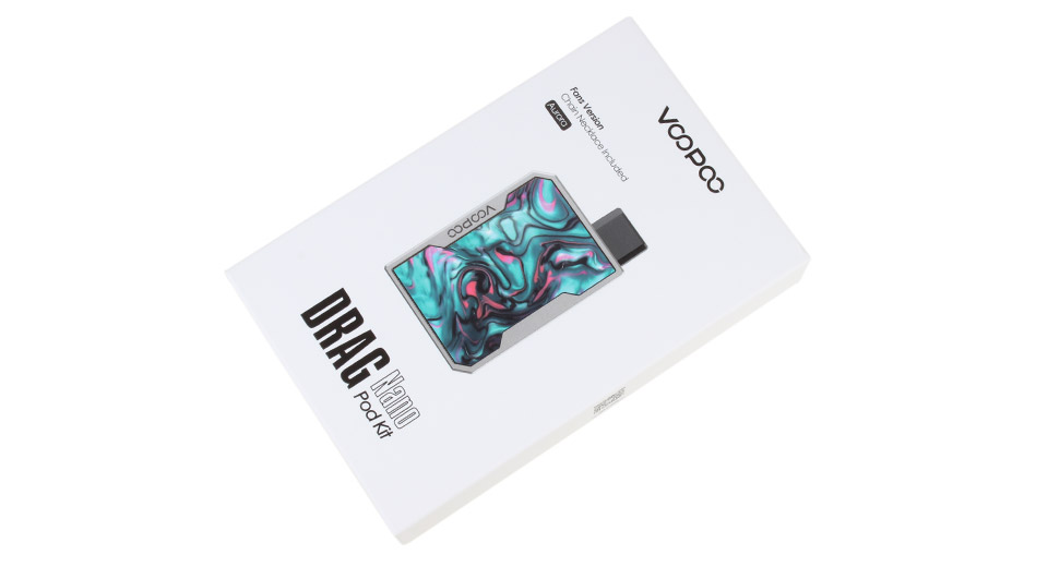 Authentic VOOPOO DRAG Nano 750mAh Pod System Starter Kit (Standard Edition)