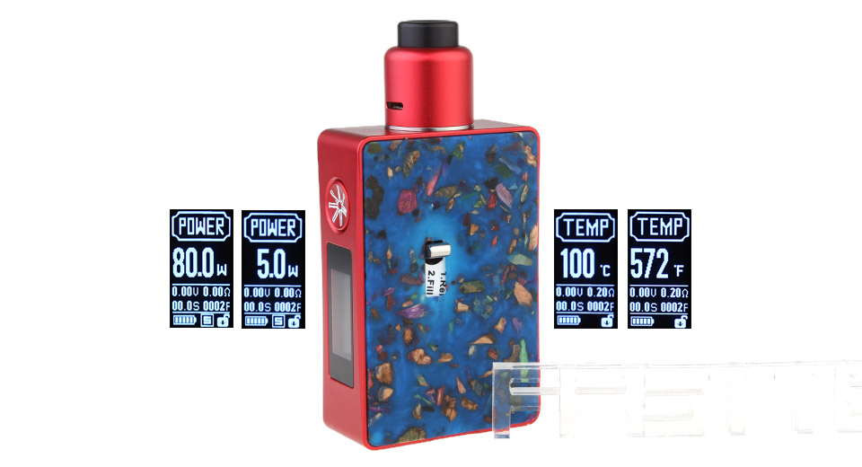 Product Image: authentic-asmodus-spruzza-80w-tc-vw-apv-squonk