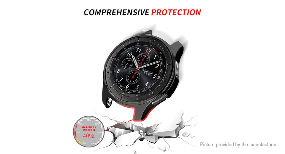 3PCS TPU Protective Watch Case for Samsung Galaxy Watch 46mm / Gear S3 Frontier