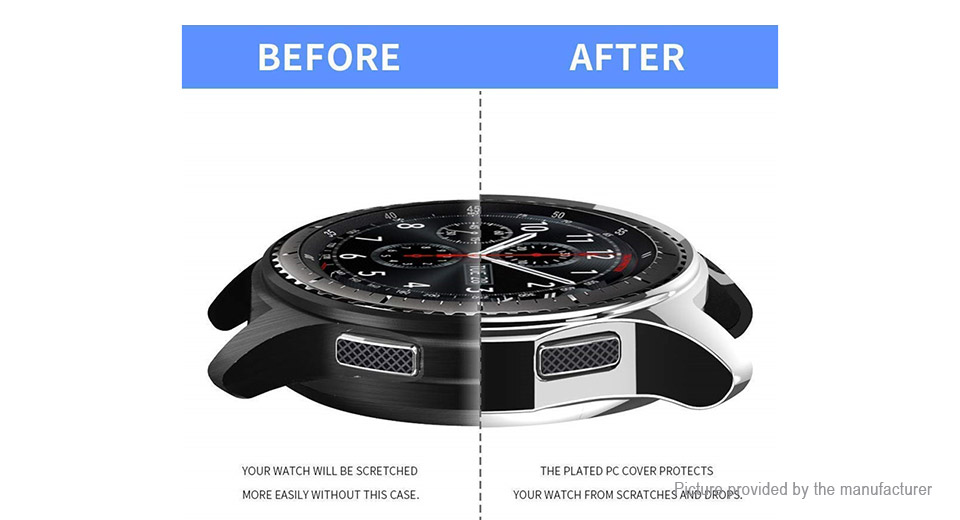TPU Protective Watch Case for Samsung Galaxy Watch 46mm / Gear S3 Frontier