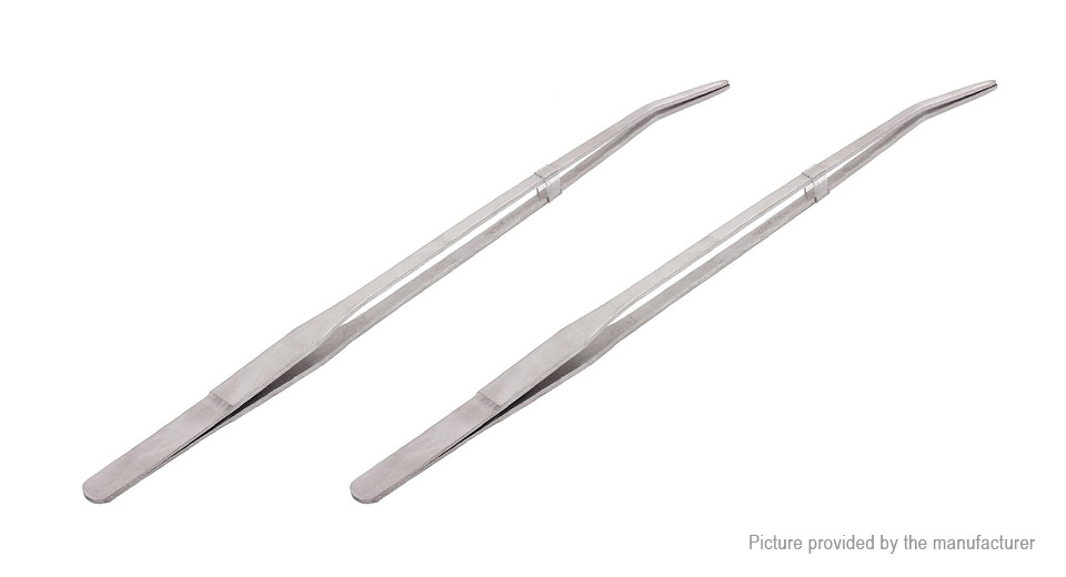 Product Image: 27cm-stainless-steel-curved-tweezers-aquarium