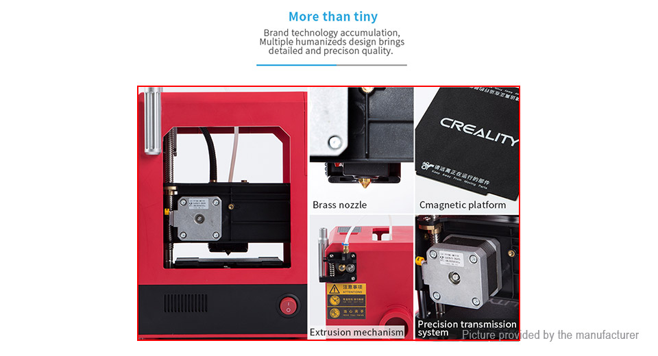 Authentic Creality CR-100 Full Assembled 3D Printer (UK)