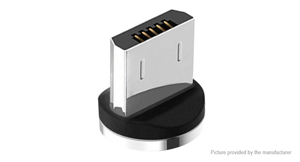 Magnetic Micro-USB Adapter Connector for Charging & Data Cable