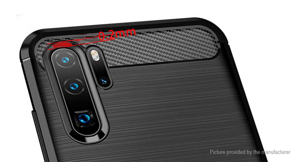 TPU Brushed Protective Back Case Cover for Huawei P30 Pro