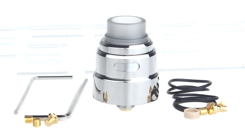 $17.27 SXK Reload S Styled RDA Rebuildable Dripping Atomizer - 316 stainless steel / 24mm diameter / w/ BF pin at FastTech - Free Shipping