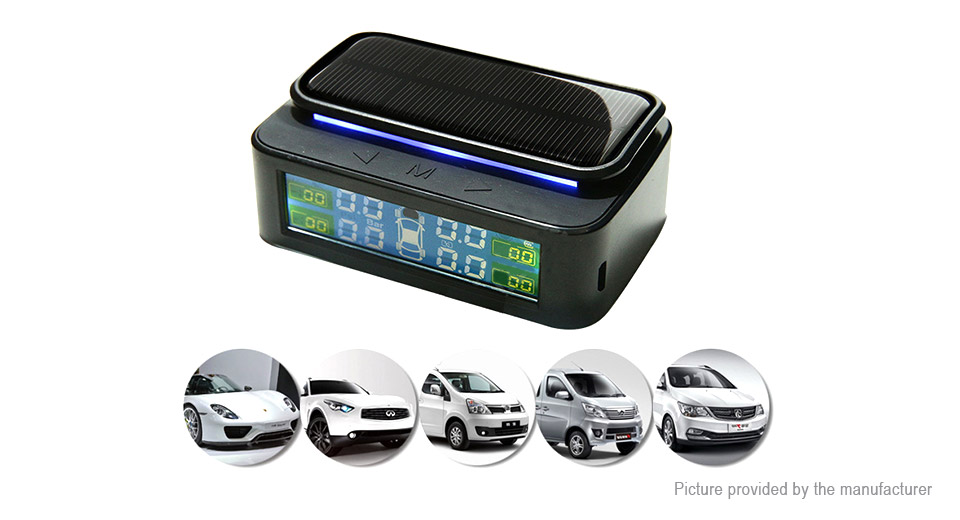 Product Image: lt-168-color-lcd-solar-powered-tpms-tire-pressure