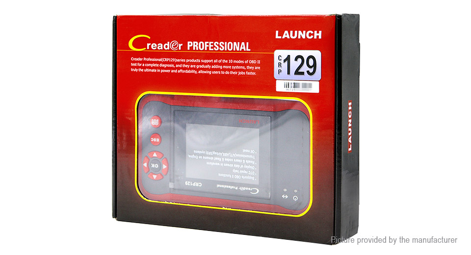 Launch Creader CRP123 Professional Car Scanner OBD2 OBD II Diagnostic Tool