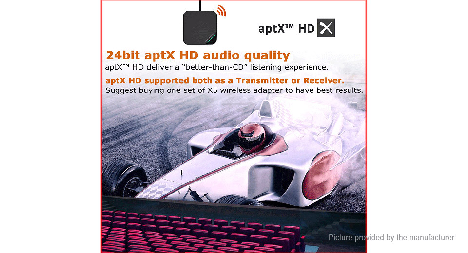X5 2-in-1 Bluetooth V5 0 Audio Transmitter & Receiver Adapter