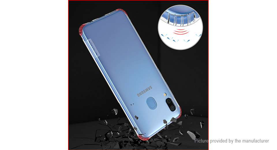 Nillkin Nature Series TPU Protective Back Case Cover for Samsung Galaxy A30