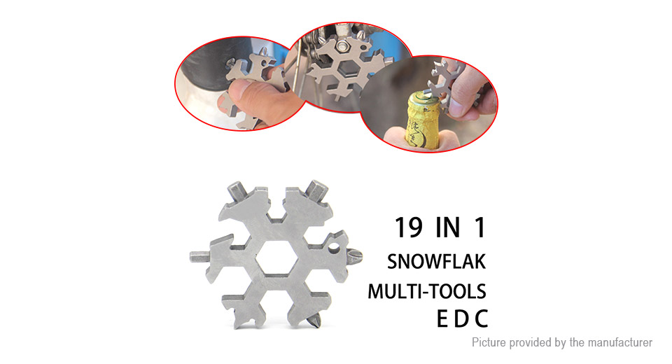 19-in-1 Multifunctional Screwdriver Hexagonal Wrench EDC Tool