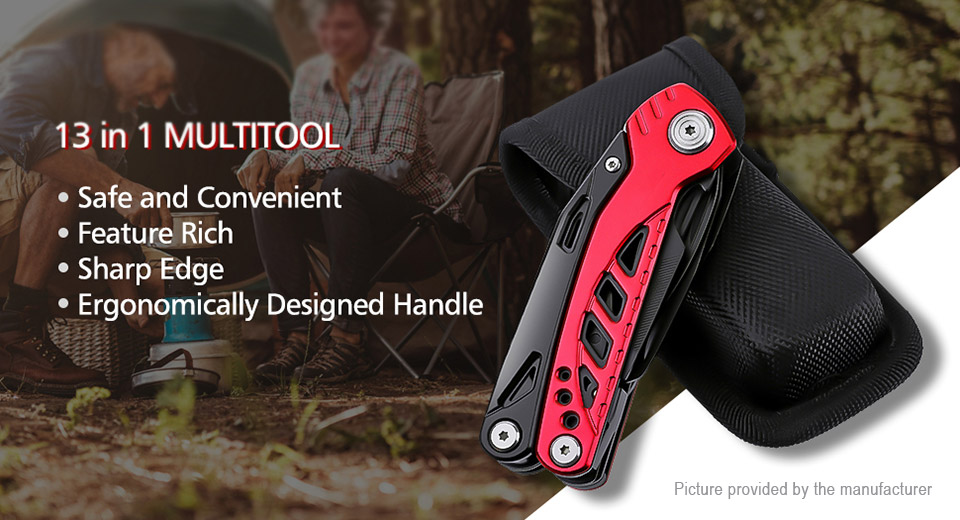 Stainless Steel Multifunctional Pliers Pocket Folding Knife EDC Tool
