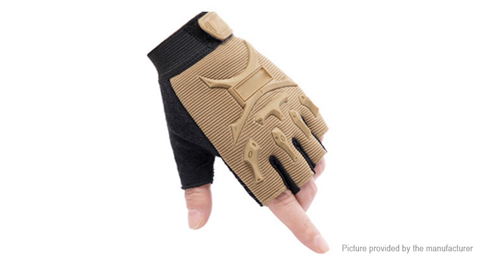 Children Outdoor Sports Cycling Non-slip Half-finger Gloves