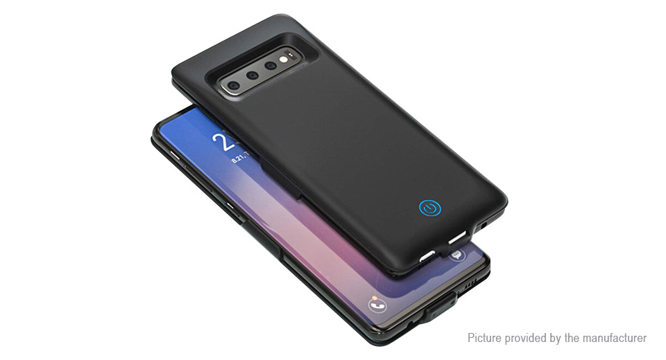 Rechargeable External Battery Back Case for Samsung Galaxy S10 (6000mAh)