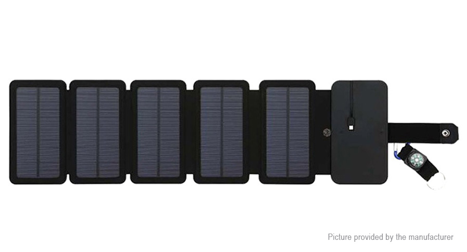 Product Image: 8w-outdoor-portable-folding-solar-power-charger